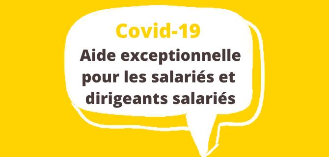 Covid-19 – l'Agirc-Arrco met en place une aide exceptionnelle dédiée aux salariés et dirigeants salariés